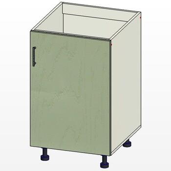 Стол под мойку 1 дверь, 500х515х820, 1 кат. Лопасня мебель