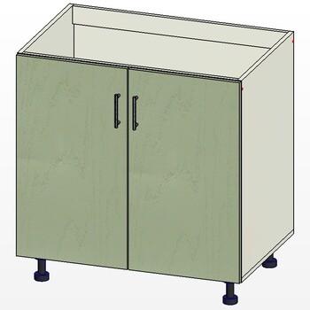 Стол под мойку 2 двери, 800х515х820, 1 кат. Лопасня мебель