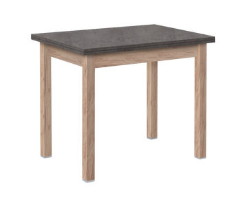Стол обеденный раскладной прямая нога 600x900 (900х1200) мм, Боровичи мебель