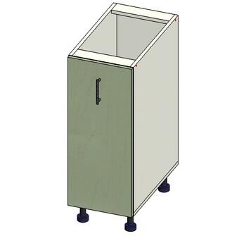 Стол под выдвижную корзину 300х515х820 мм, 1 кат. Лопасня мебель