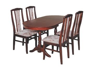 Столовая группа со стульями массив, Боринское