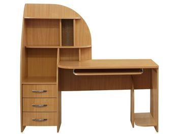 Стол компьютерный № 2, 1500х695х1420, Элегия, Боровичи