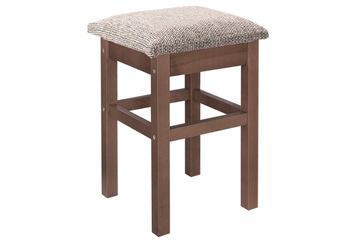 Табурет мягкая крышка прямая нога массив, Боровичи мебель