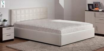 Кровать с подъемным механизмом Люкс Классика, 1200 с блоком независимых пружин, Боровичи мебель