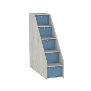 Тетрис 1 308 Лестница ступеньками, 368 х 1158, В 1229 мм, Моби мебель