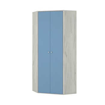 Тетрис 1 328 Шкаф угловой, 876 х 876 (390), В 2128 мм, Моби мебель