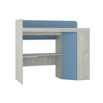 Тетрис 1 345 + 353, Кровать-чердак со столешницей, 2039 х 838, В 1760 мм, Моби мебель