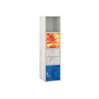 Тетрис 1 314 Стеллаж + фасады, 368 х 390, В 1424 мм, Моби мебель