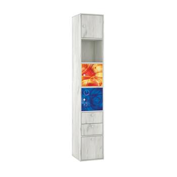 Тетрис 1 316 Стеллаж + фасады, 368 х 390, В 2128 мм, Моби мебель