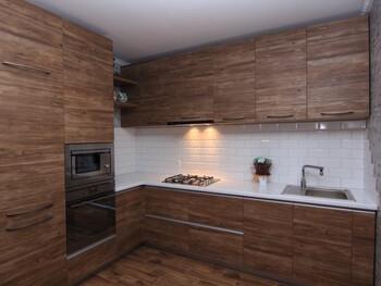 Кухня Мыло, Дуб антик