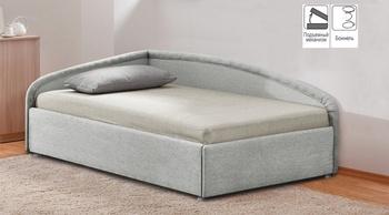 Кровать с подъемным механизмом Угловая 900, Боровичи мебель