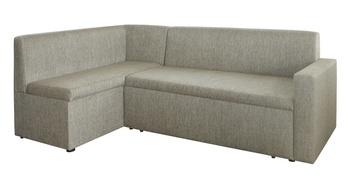 Кухонный угловой диван Уют со спальным местом и с боковиной, Левый, Боровичи мебель
