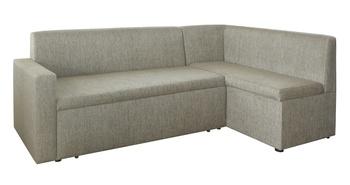 Кухонный угловой диван Уют со спальным местом и с боковиной, Правый, Боровичи мебель