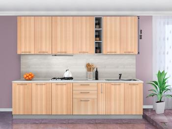 Кухонный гарнитур Классика 2300 (выс. 900 мм), 2 категория, Боровичи мебель