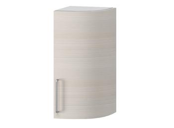 В-128 правый Шкаф торцевой гнутый глухой 320х320х700 (II категория), Боровичи мебель.