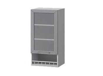В-55В Шкаф-витрина с нишей 400х320х900 (II категория), Боровичи мебель