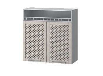 В-56 Шкаф с нишей с решеткой 800х320х900 (II категория), Боровичи мебель
