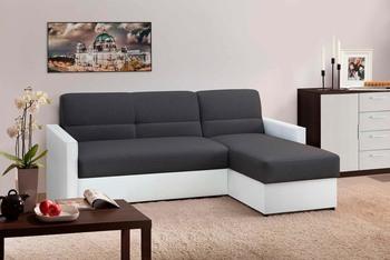 Угловой диван Виктория 2-1 1400 боковина с кантом, Боровичи мебель