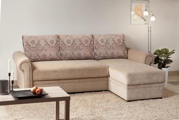 Угловой диван Виктория 2-1 Люкс 1400, Боровичи мебель
