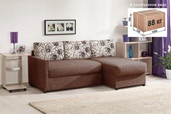 Угловой диван Виктория 2-1 comfort Компакт 1200, Боровичи мебель