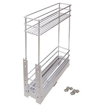 Выдвижная корзина для кухни KR15
