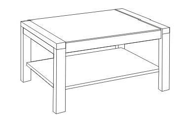 Журнальный столик из дерева своими руками чертеж