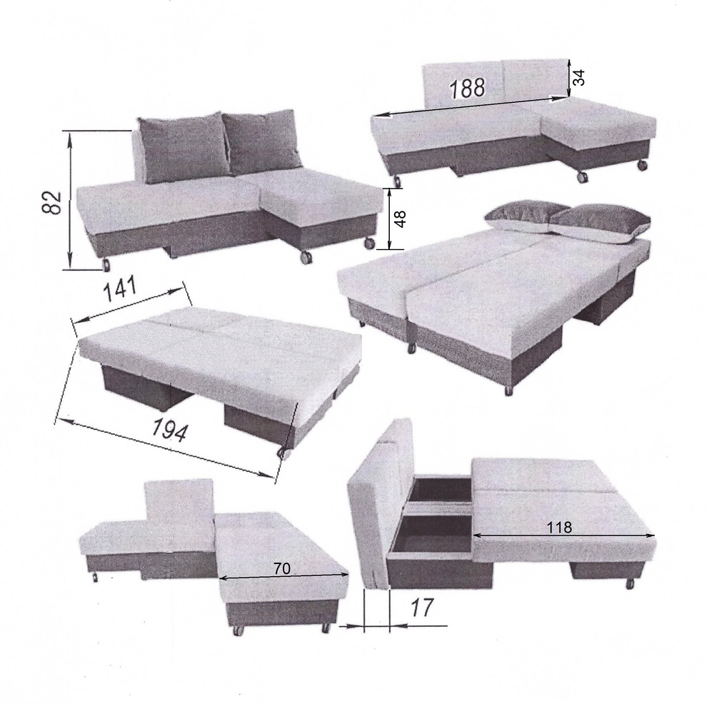 угловой диван лира трансформер 1400 боровичи мебель серия лира